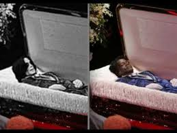 michael open coffin
