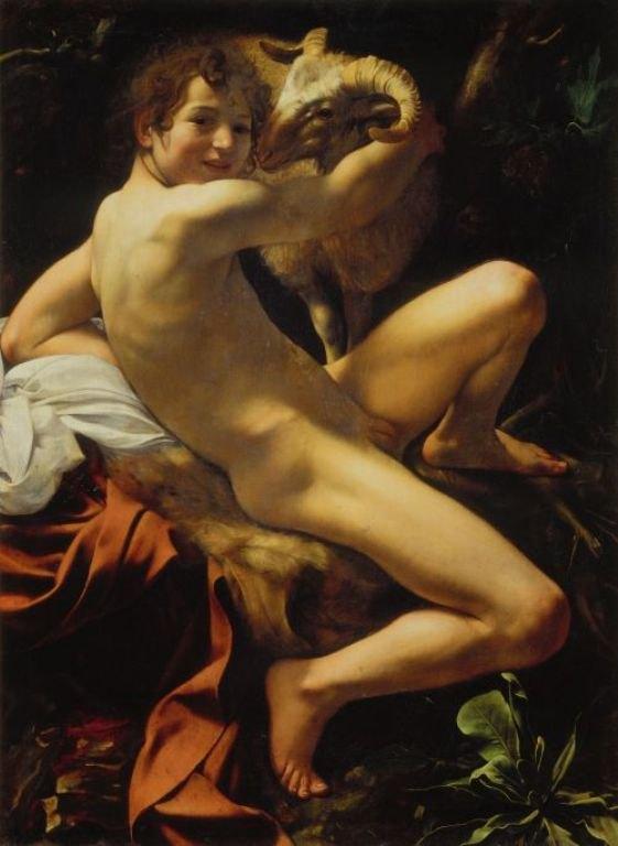 caravaggio keresztelő