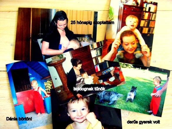 régi fotók anyaság 2003