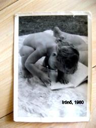 régi fotók, írónő