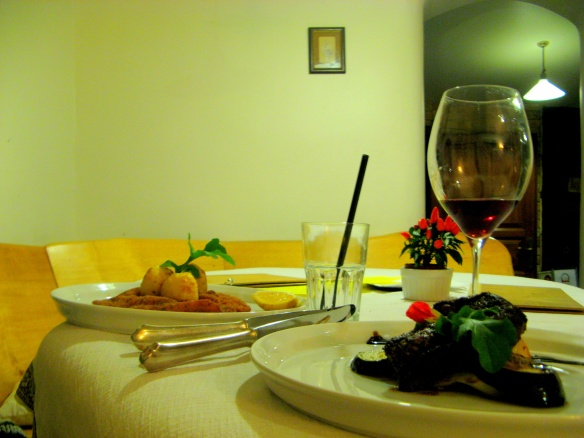 ráspi vacsora