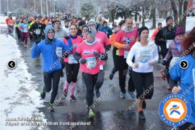 Zúzmara futás, 10 km, 2018
